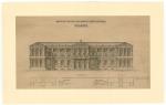 Fachada del antiguo Archivo General de Navarra