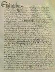Acta de coronación de Catalina de Foix y Juan III de Albret