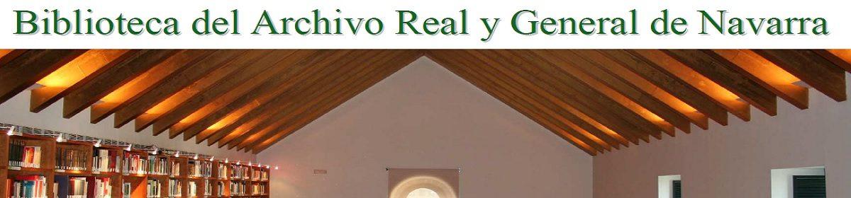 BIBLIOTECA DEL ARCHIVO REAL Y GENERAL DE NAVARRA